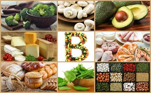 منابع ویتامین B