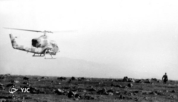 کدام خلبان از ۵ کیلومتری تانک عراقی را منهدم کرد؟