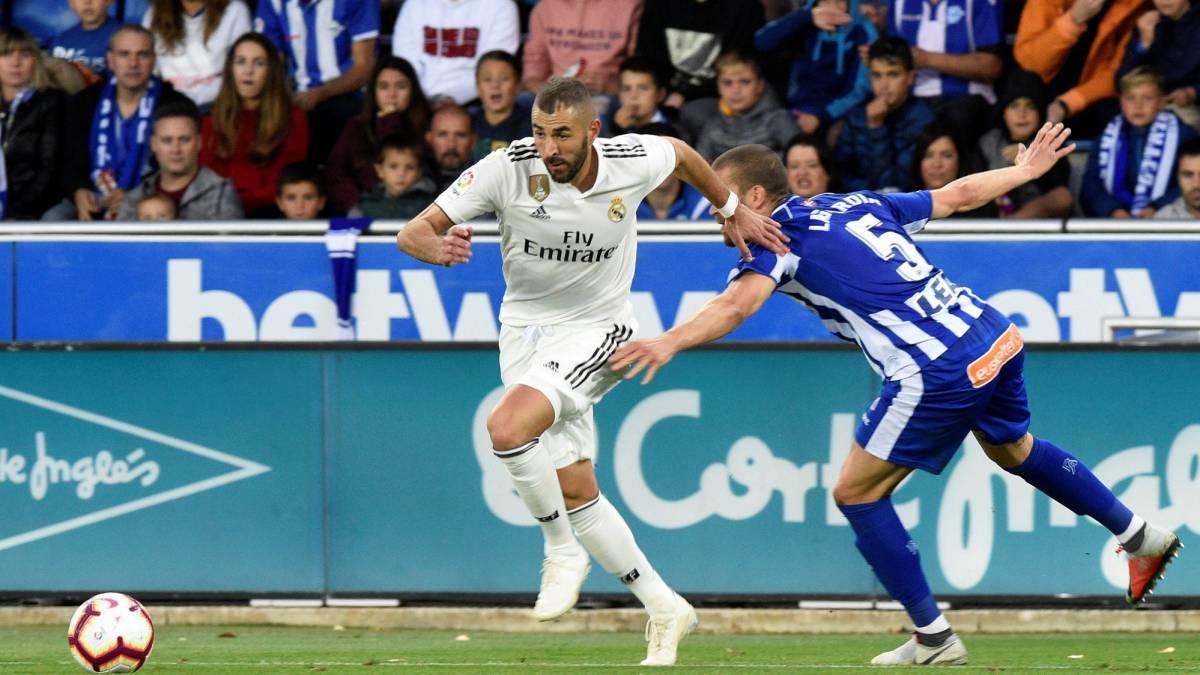 بازی فوتبال رئال مادرید - آلاوس/ تقابل کهشکانیها با تیم انتهای جدولی بدون راموس
