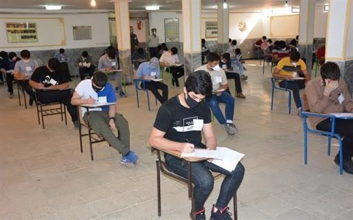 برگزاری آزمون مدارس نمونه دولتی استان همدان با شرکت بیش از ۶ هزار دانش آموز