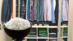 ترفندهایی با برنج؛ از خشک کردن موبایل خیس تا خوش بو کردن کمد لباس