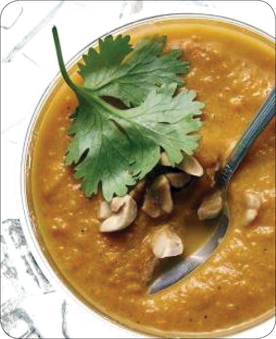 سوپ هویج به سبک تایلندی + طرز تهیه