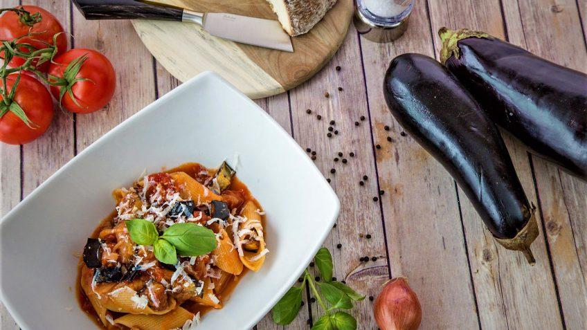 پاستا آلانورما یک پاستا گیاهی خوشمزه + طرز تهیه