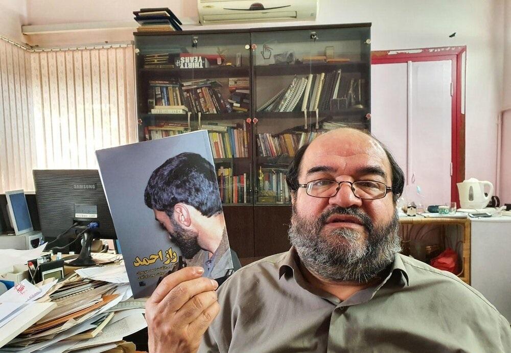 حاج احمد را در «راز احمد» دستنیافتنی معرفی نکردم/ برایم مهم بود نگاه غربیها به متوسلیان را بشناسم