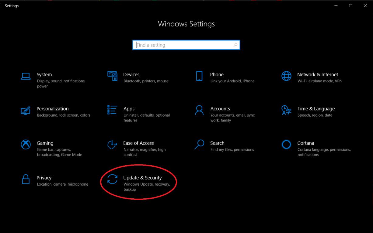 تنظیمات کارخانه بر روی ویندوز ۱۰