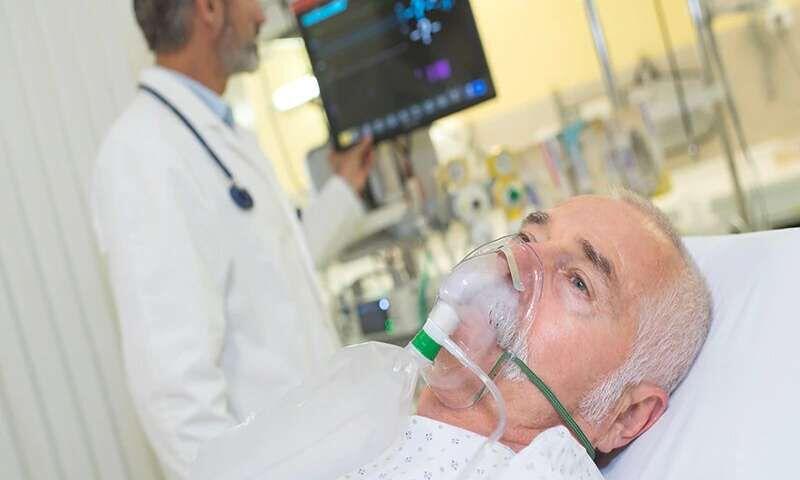 کرونایی در بیمارستان