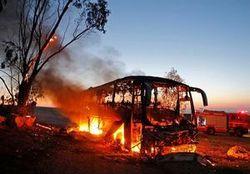 لحظه انهدام کاروان نظامی آمریکا پس از حملهای برق آسا + فیلم