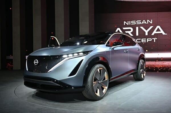 خودروی تمام الکتریکی Nissan Aryia