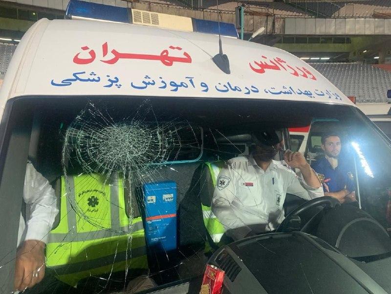 ماجرای شکستن شیشه آمبولانس از سوی شجاعی