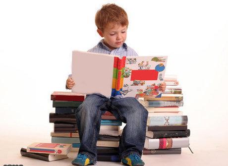 علاقمندی کودکان به کتابخوانی