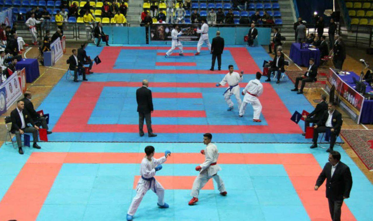 اعلام نفرات برتر رقابتهای کاراته وان پسران