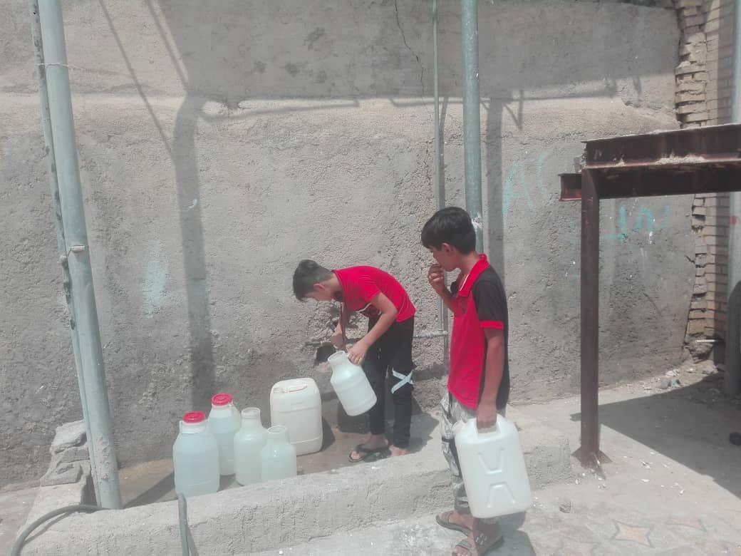بیآبی، مردم هشت لنگله مسجد سلیمان را رنج میدهد + تصاویر