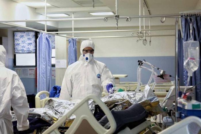 پُر شدن تخت های بیمارستانی کرونایی