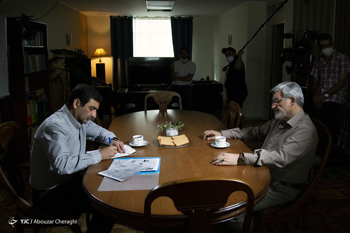 گفتگو با ماموران امنیتی سریال خانه امن /