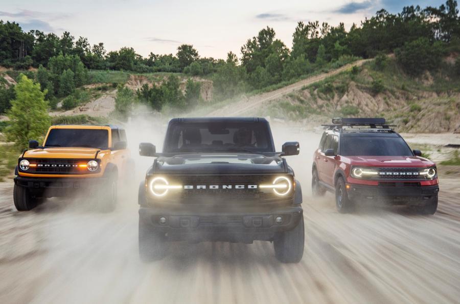 بازگشت افسانه / سری فورد Bronco رونمایی شد