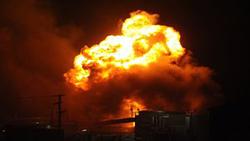 وقوع انفجار مهیب در اسرائیل + فیلم
