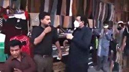 باشگاه خبرنگاران - کتک زدن مردم برای زدن ماسک توسط خبرنگار! + فیلم