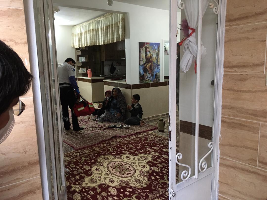 نجات افراد گرفتار شده در سیلاب خراسان شمالی