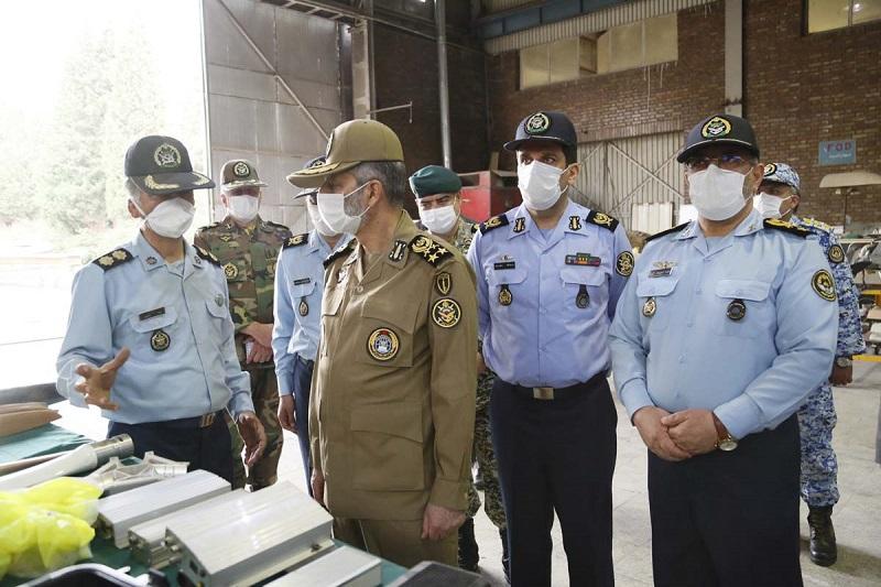 بازدید فرمانده کل ارتش از مجتمع اوج نیروی هوایی