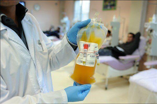 اهدا پلاسمای بیماران کرونایی برای درمان بیماران بد حال