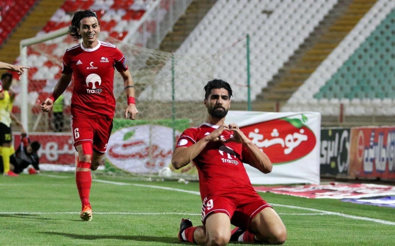 //ترینهای هفته بیست و پنجم لیگ برتر فوتبال/ تراکتوریها عناوین برتر را درو کردند