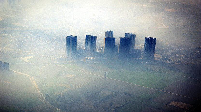 ویروس کرونا و آلودگی هوا گریبانگیر پایتخت