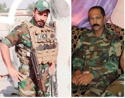 شهادت ۲ نفر از رزمندگان الحشد الشعبی در صلاح الدین
