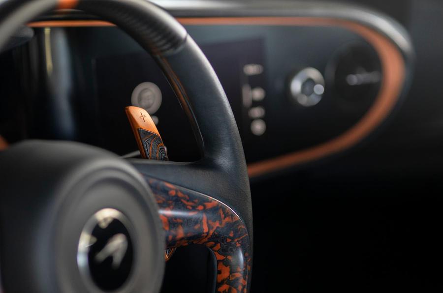 طراحی داخلی جذابترین خودروی جهان
