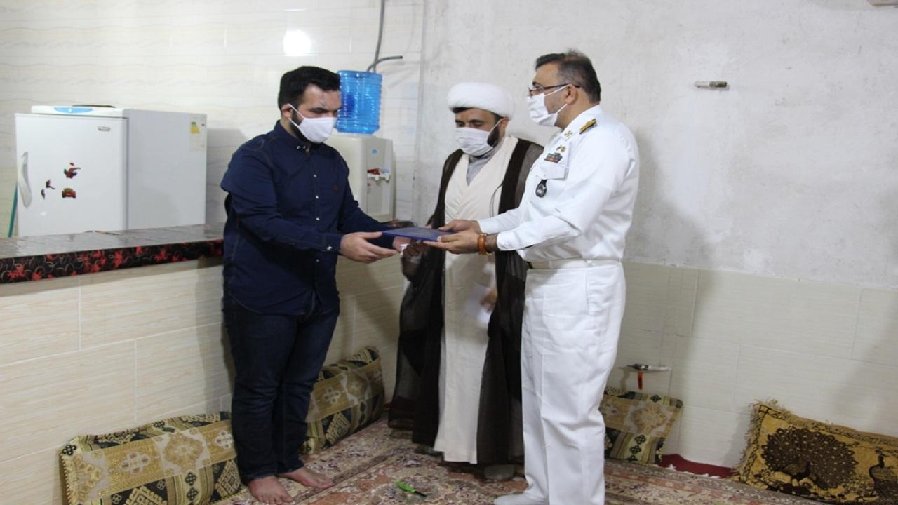 دیدار با جانباز بوشهری حادثه شناور کنارک
