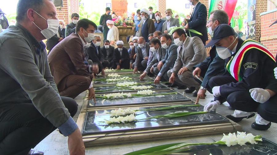 بزرگداشت شهدای ۷ تیر در آذربایجان شرقی