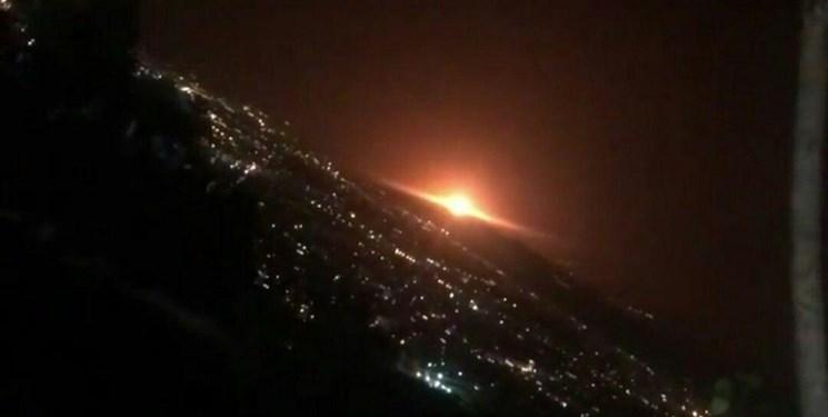 مشاهده شدن نور نارنجی در شرق تهران؛ منشاء این نور هنوز مشخص نشده است