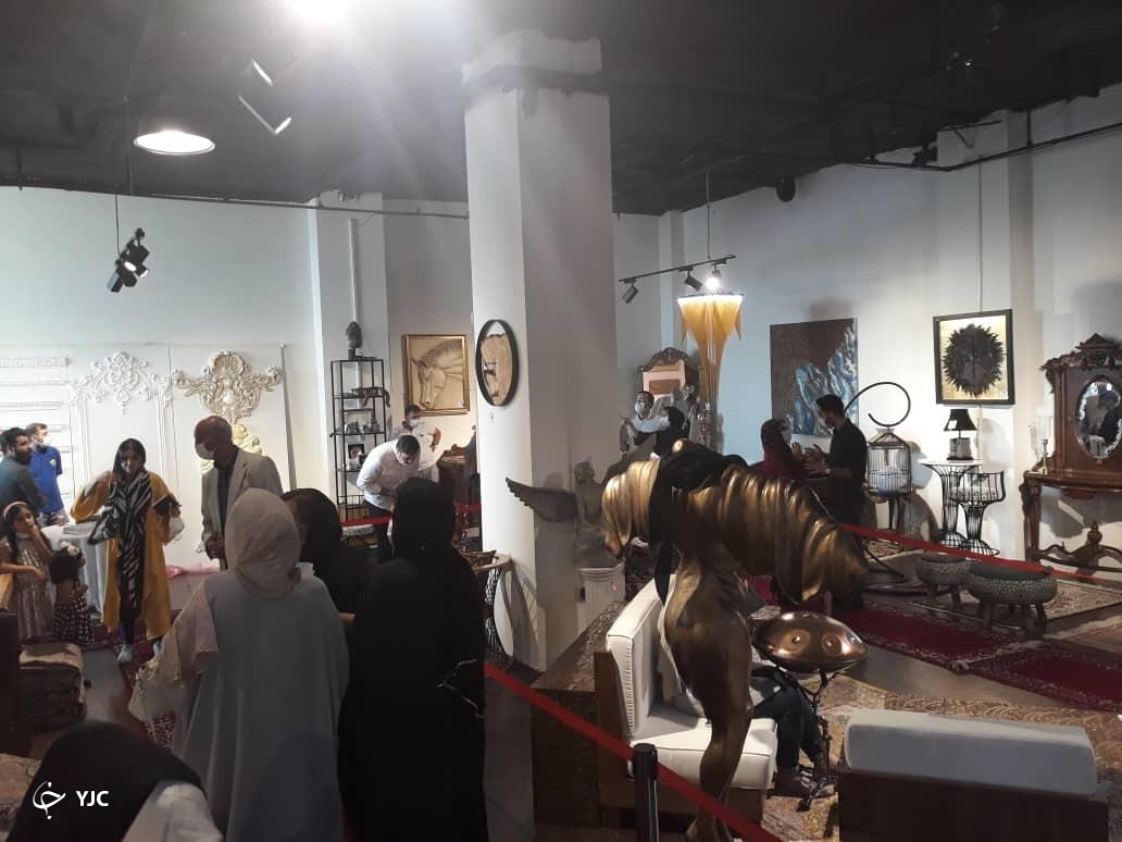 نمایشگاه مبلمان دست ساز
