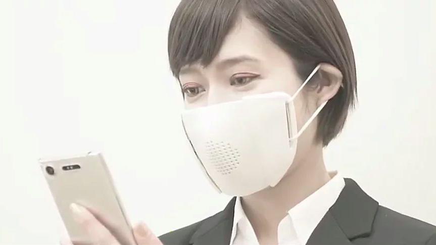 ماسک هوشمند، صدای شما را به متن تبدیل میکند