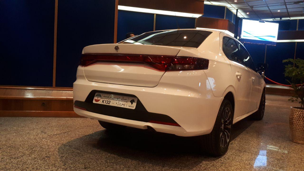 رونمایی از خودروی جدید ایران خودرو+ تصاویر