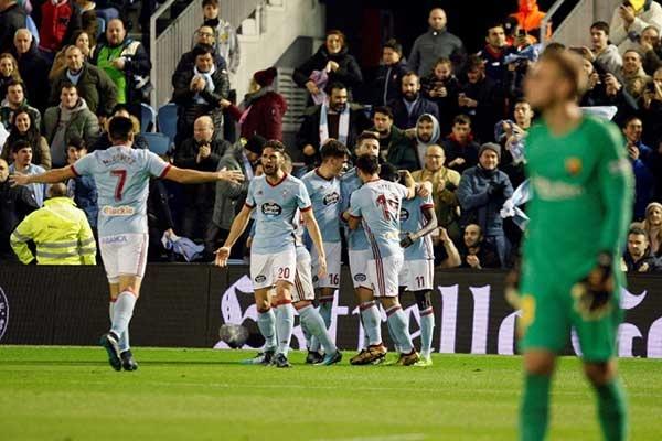 سلتاویگو ۲ - بارسلونا ۲/ توقف بدموقع شاگردان «ستین»