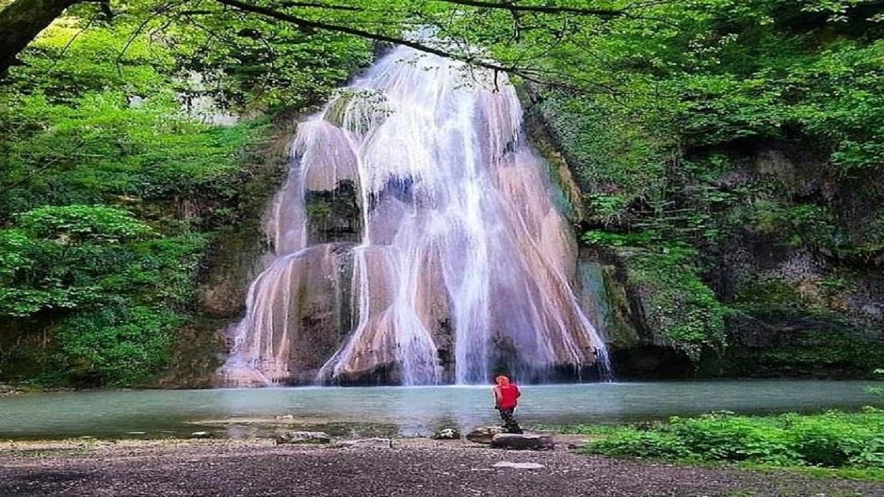 آبشار لوه کالگیش ، عروس آبشار های گلستان + عکس
