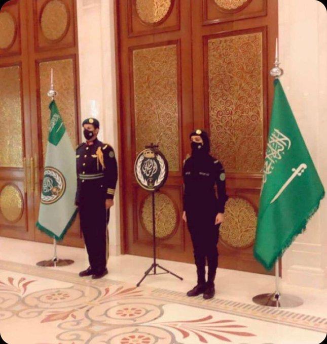 اولین محافظ زن خاندان سعودی معرفی شد
