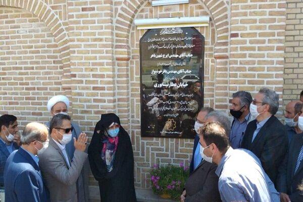 افتتاح ۷ طرح عمرانی و خدماتی شهرداری منطقه ۲ تبریز