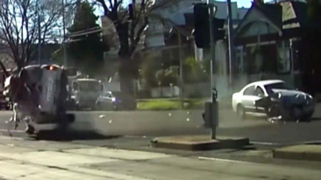 تصادف شدید