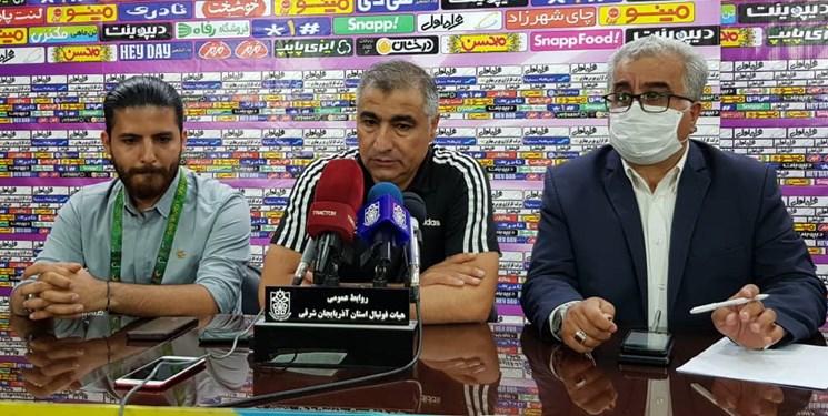 الهامی: شرمنده هواداران تراکتور شدیم/ تیم پیکان فقط دفاع می کرد