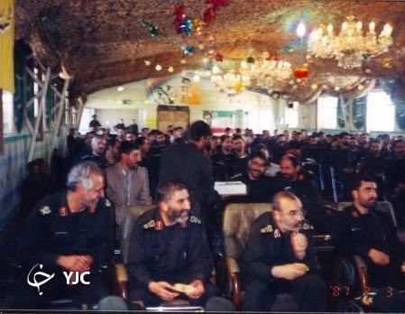تصویر دیده نشده از سردار سلامی در کنار سردار شهید احمد کاظمی