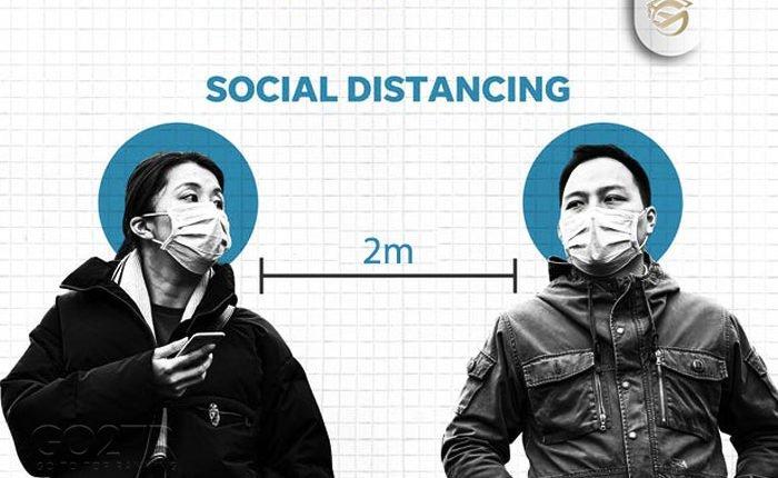 فاصله اجتماعی را رعایت کنید