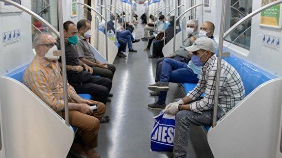 مترو،ماسك،پليس،كرونا،بهداشتي،رعايت،ورود،بيماري،تردد،ماموران،شهر…