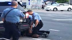 انتشار جدیدترین فیلم از لحظه بازداشت و قتل جورج فلوید از دوربین همراه پلیس + ویدئو