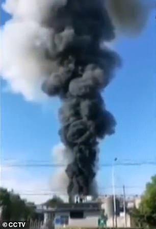 انفجار در کارخانه مواد شیمیایی در چین با ۱۰ کشته و مجروح