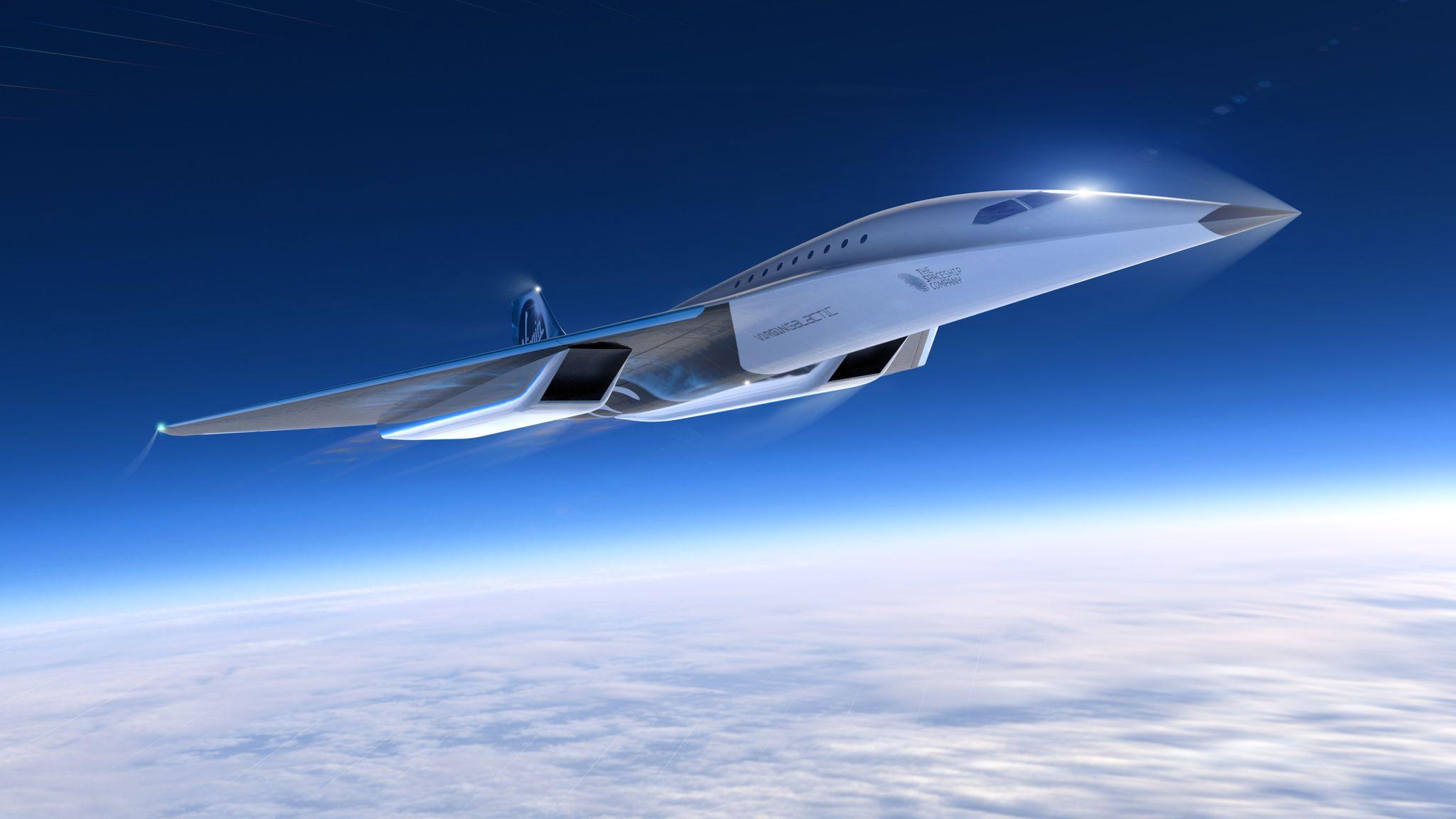 کانسپت سریعترین هواپیمای جهان