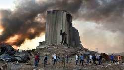پاسخ دندان شکن یک جوان لبنانی به شبکه الحدث در پی انفجار شدید در بیروت + فیلم