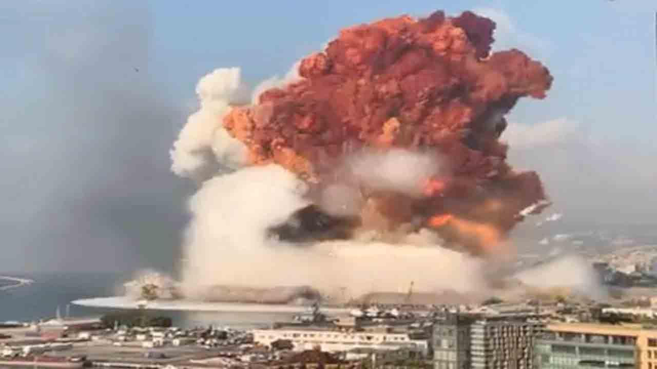 انفجار در بیروت