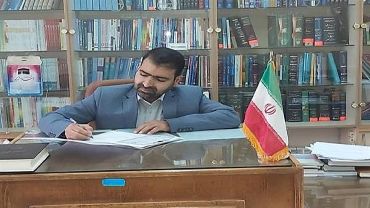 روح الله محمدی رئیس دادگستری بروجن