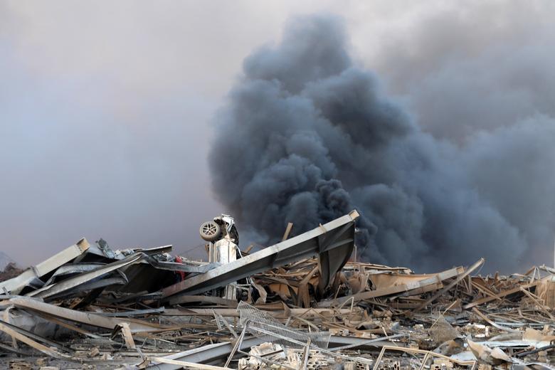 جدیدترین تصاویر از انفجار بندر بیروت
